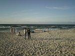 Plaża i morze, Krynica Morska