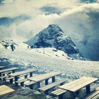 stok narciarski, góry