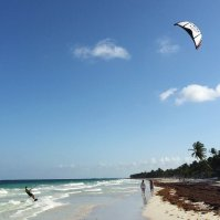 wakacje, sport, kite